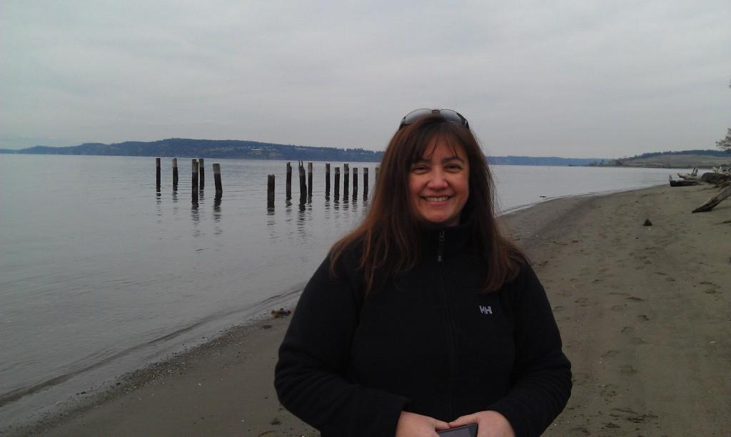 Nathaly Kolp at Sunnyside Beach