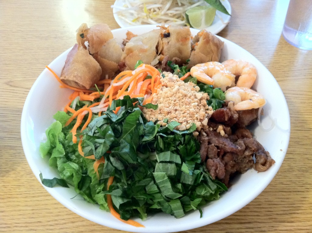 Pho PQ Lakewood Washington Bun Vietnamese Salad
