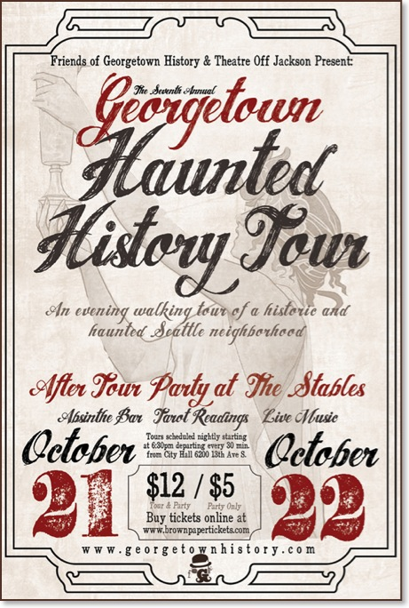 7th Annual Georgetown Haunted History Tour