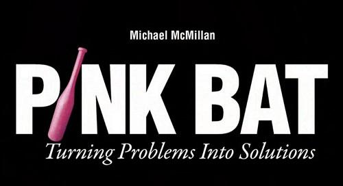 Pink Bat by Michael McMillan