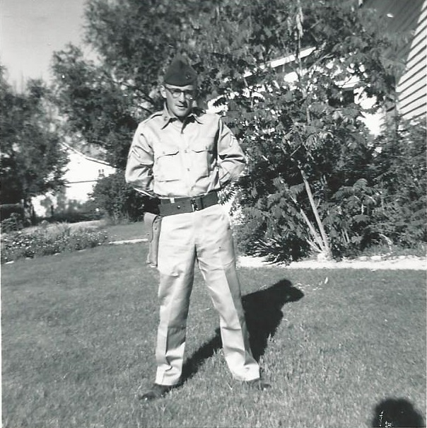 My Dad while stationed in  Colorado, 1962