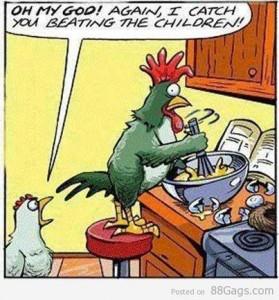 Beating Eggs