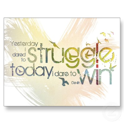 Dare to struggle