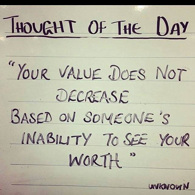 Your Value Does Not Decrease