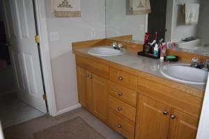 Master Bath, double sinks